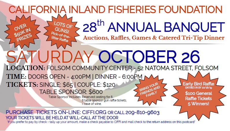 California Inland Fisheries Foundation, Inc  - Home